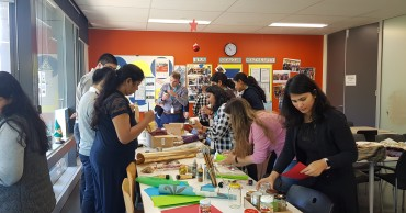 Sustainability month 2019: Sydney employees put their upcycling skills to the test